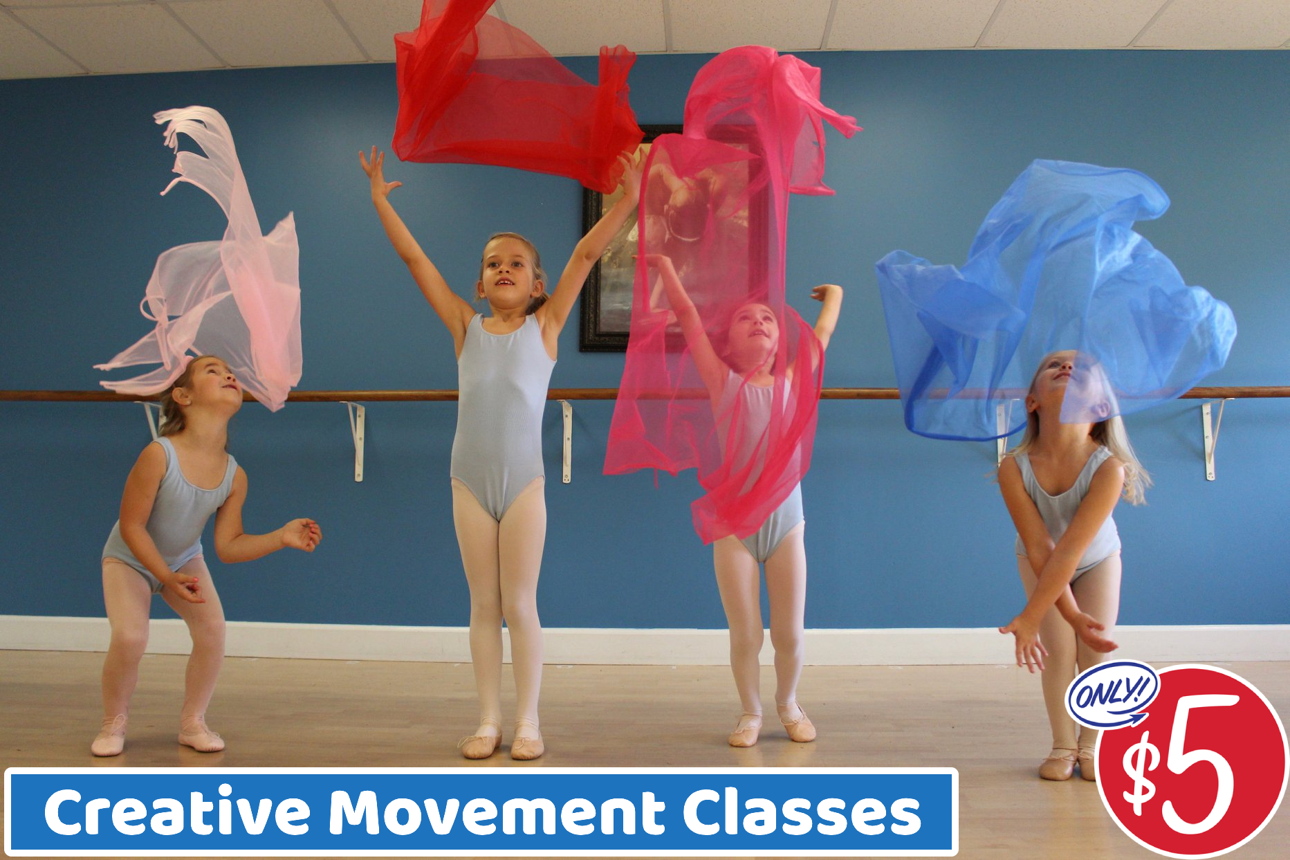 $5 Creative Movement Classes!